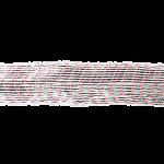 Формовочная сетка бело-красная 100 мм 2 м
