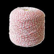 Шпагат для колбас хб бело-красный Бухта 2,3 кг