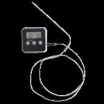 Термометр-таймер с выносным датчиком пластиковый