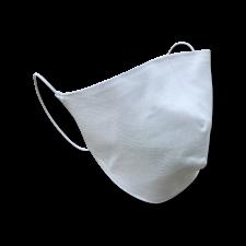 Защитная многоразовая маска Двухслойная белая